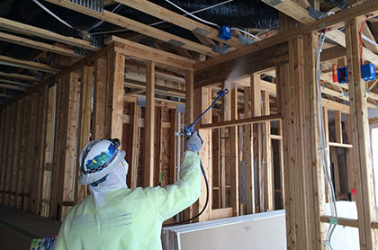 Mold Prevention for a home under construction